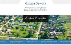 Więcej o: Nowa strona internetowa Gminy Dzwola