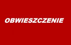 Więcej o: Obwieszczenie Wojewody Lubelskiego zdnia 8.06.2016 r.