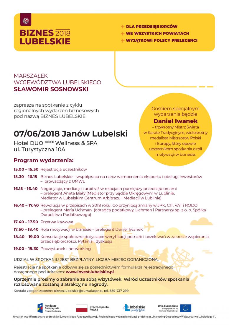 janow-lubelski-program